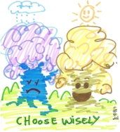 From the Woody Woods board, which tree will you pick fruit from?